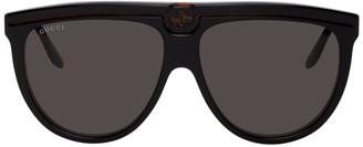 Gucci Black and Tortoiseshell GG0732S Sunglasses