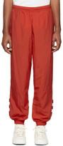 adidas Red Big Trefoil Track Pants