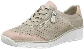 Rieker Women's 53725 Women Sneakers Grey Size: