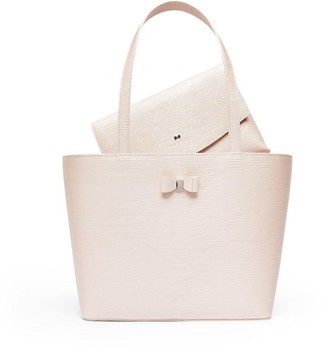 Ted Baker Demmiee Bow Detail Shopper
