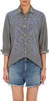 Sandrine Rose Women's Roses Button-Front Shirt