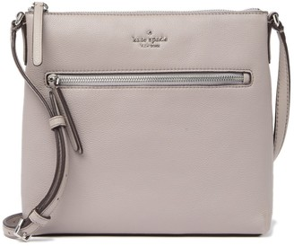 Kate Spade Jackson Top Zip Leather Crossbody Bag