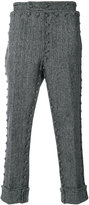 Thom Browne buttoned trim trousers