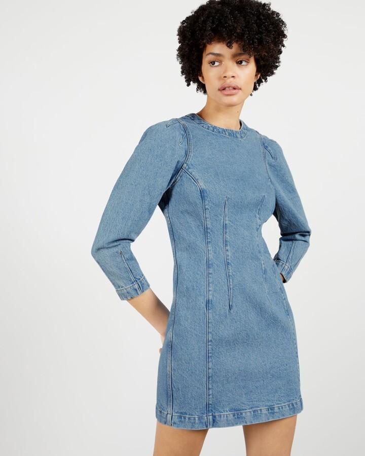 Ted Baker Denim Mini Dress