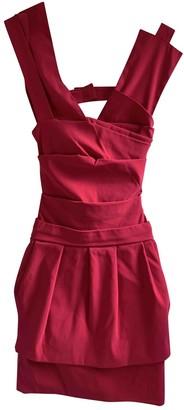 Preen Pink Cotton Dress for Women