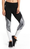 Gap GapFit Blackout gFast block print high rise leggings