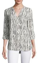 Soft Joie Joie Dane Graphic Printed Blouse