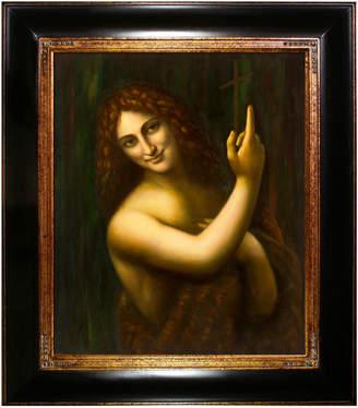 Leonardo Overstock Art La Pastiche By Overstockart St John The Baptist, C.1513-1516 By Da Vinci