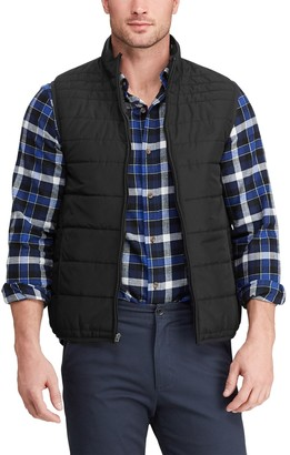 Chaps Big & Tall Quilted Packable Vest