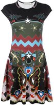 Mary Katrantzou 'Pinto' graphic cowboy print dress - women - Spandex/Elastane/Viscose - XS