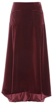 Carolina Herrera Exclusive To Mytheresa.com – Velvet Skirt