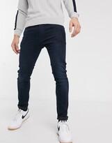 Levi's 519 super skinny fit low rise jeans in rajah advance dark wash-Blue