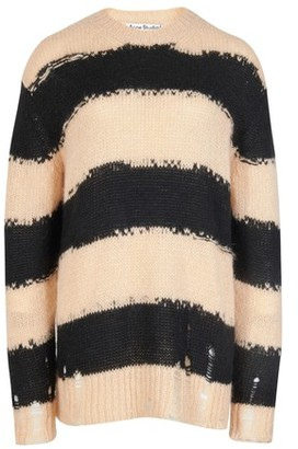 Acne Studios Distressed striped sweater