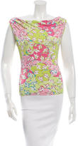 Emilio Pucci Sleeveless Printed Top