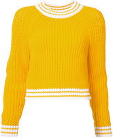 Milly fisherman knit sweater