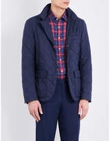 Canali Sheepskin-lined Quilted Jacket