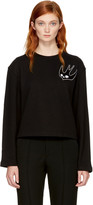 McQ by Alexander McQueen Black Swallow Skater Sweatshirt