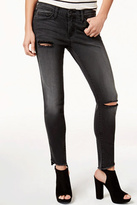 Flying Monkey Slanted-Hem Cropped Jean