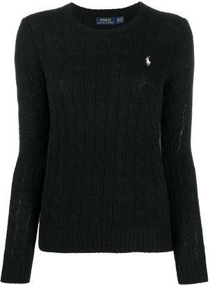 Polo Ralph Lauren Round-Neck Cable Knit Sweater