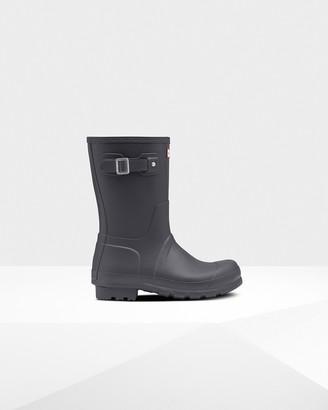Hunter Men's Original Short Insulated Rain Boots