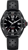 Tag Heuer WAZ2115.ft8023 Formula 1 titanium and rubber watch
