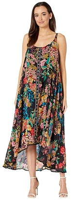 Johnny Was Logan Lined Dress (Multi) Women's Clothing
