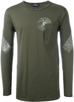 Stone Island Shadow Project - patch pocket T-shirt - men - Cotton - M