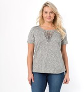 Taillissime Embroidered Crew Neck T-shirt