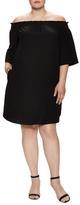 Rachel Roy Off Shoulder Shift Dress
