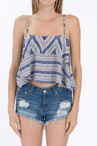 Olivaceous Blue Crop Top