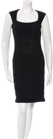 Alaia Textured Sheath Dress