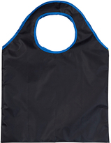 Fits Black & Royal Blue Foldable Tote
