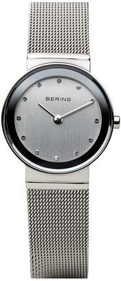 Bering Women's Stainless Mesh Bracelet Watch
