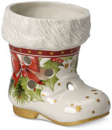 Villeroy & Boch Christmas Light Santa Boot Votive