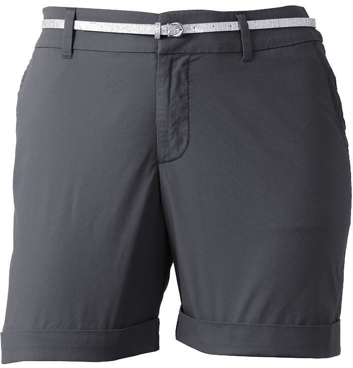 Apt. 9 cuffed shorts - women's plus