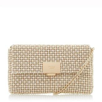 Dune London Evanderr Diamante Embellished Clutch Bag