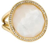 Ippolita 18K Mother of Pearl & Diamond Lollipop Ring