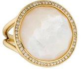 Ippolita 18K Mother of Pearl & Diamond Lollipop Ring
