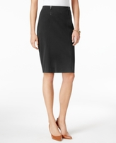 Alfani Petite Double-Zip Pencil Skirt, Created for Macy's