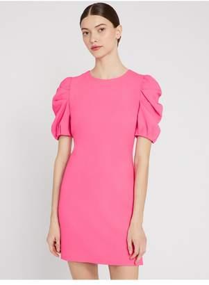 Alice + Olivia Hanita Puff Sleeve Shirt Dress
