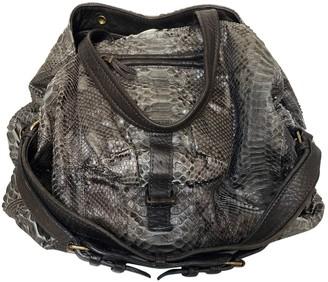Jerome Dreyfuss Billy Grey Water snake Handbags