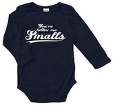 Urban Smalls Navy 'You're Killin' Me Smalls' Long-Sleeve Bodysuit - Infant