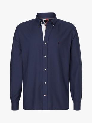 Tommy Hilfiger Contrast Trim Lightweight Oxford Shirt