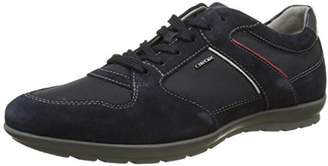 Geox Men's Uomo Symbol A Low-Top Sneakers, Blue (Navyc4002)