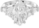 Peter Suchy Platinum with 5.8ct Diamond Ring Size 7