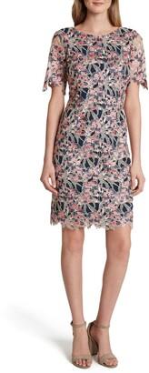 Tahari Lace Cocktail Dress
