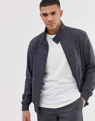 Selected smart harrington jacket-Grey