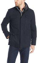 Haggar Men's Brighton Military Four-Pocket Jacket
