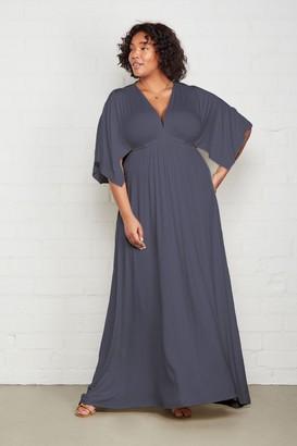 White Label Long Caftan Dress - Plus Size
