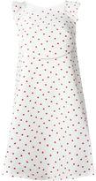 DELPOZO polka dot A-line dress - women - Cotton/Polyester/Polyamide/Silk - 34